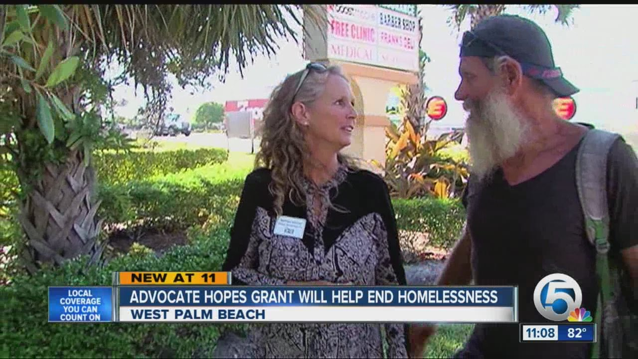 advocate hopes grant will help end homelessness