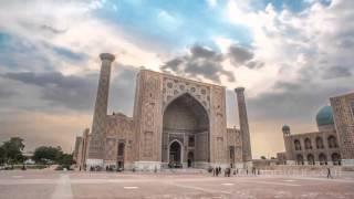 Tashkent and Samarkand 2015 timelapse