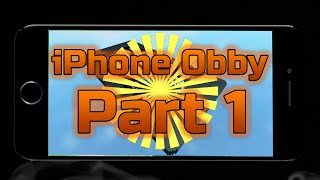 Dying in an iphone..... (Roblox: Iphone Obby)