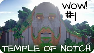 The Temple Of Notch -- WOW! Episode 1 - Minecraft [DE] [HD]