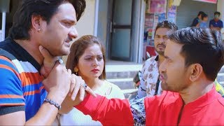 Nirahua ने लड़की छेड़ने वाले लड़को जम कर पिटाई किया - Comedy Scene From Bhojpuri Movie JIGAR