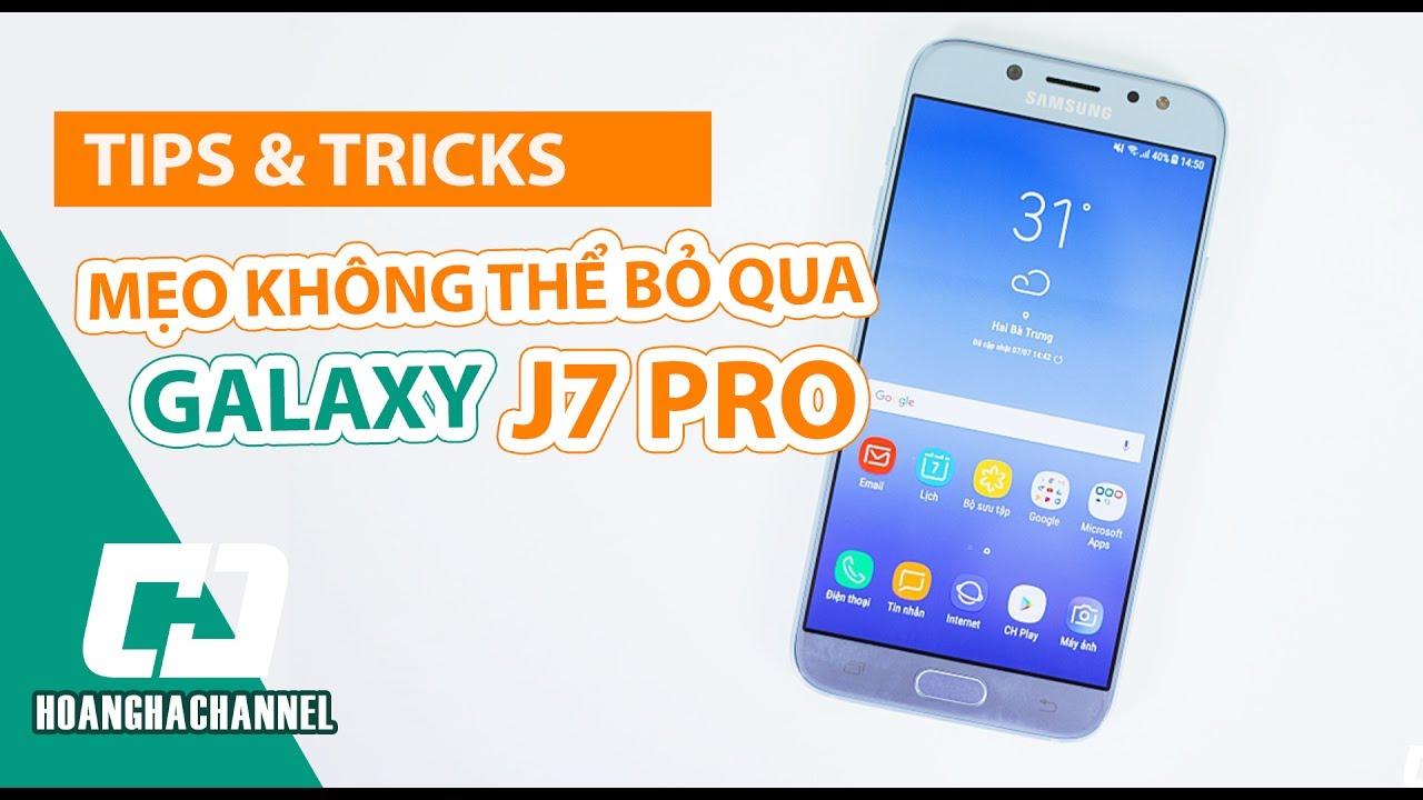 8 Mẹo Sử dụng Samsung Galaxy J7 Pro | Hướng dẫn sử dụng các tính năng nổi bật