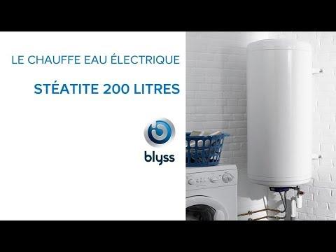 Chauffe Eau électrique Stéatite 200 Litres Blyss Castorama