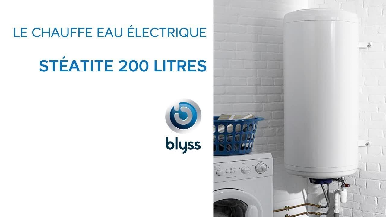 Chauffe Eau Electrique Steatite 200 Litres Blyss Castorama Youtube