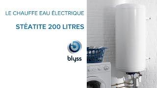 Chauffe Eau Electrique Steatite 200 Litres Blyss Castorama