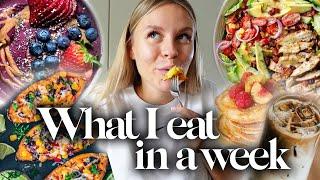 DAS alles esse i¢h in einer Woche 🥗🍔🍝 ( What I eat in a week ) | Dagi