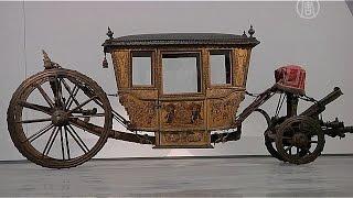 Бесценные кареты Португалии переехали (новости)(http://ntdtv.ru/ Бесценные кареты Португалии переехали. Эту бесценную карету начала XVIII века бережно упаковывают,..., 2015-05-25T12:53:07.000Z)