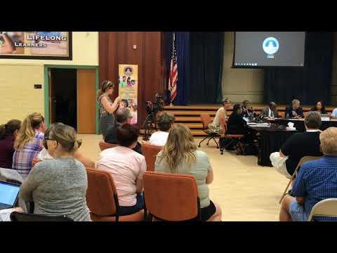 Watch controversial school board vote to fill vacancy