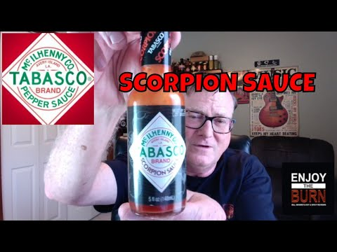 "Tabasco ""Scorpion Sauce"" Review"