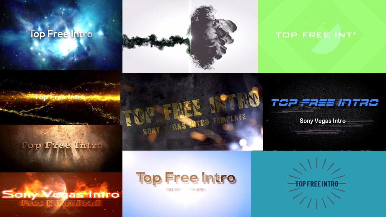"""top 10 free intro templates """"sony vegas intro template"""" download +, Powerpoint templates"""