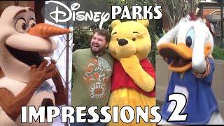 Disney Parks Impressions Compilation #2