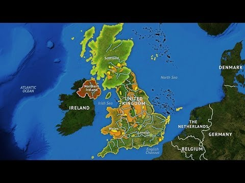 The United Kingdom's Geographic Challenge