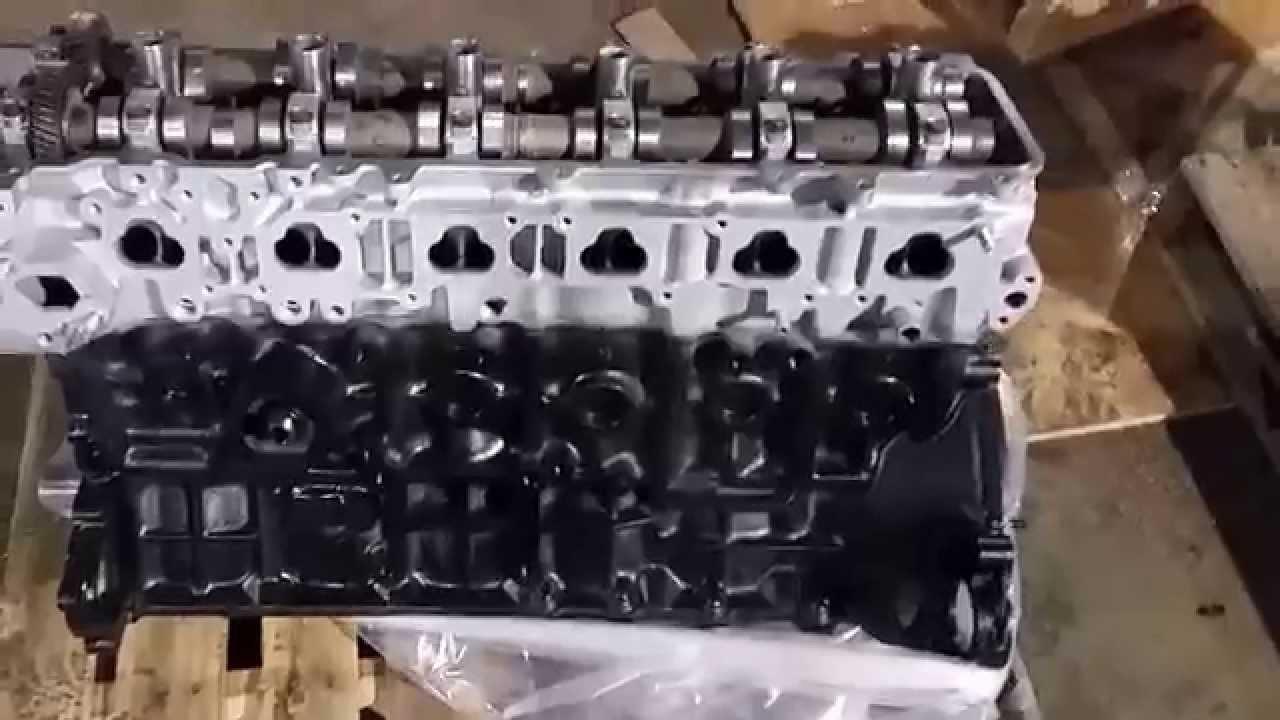 Toyota 1fz Fe Rebuilt Engine For Toyota Land Cruiser  U0026 Lexus Lx450