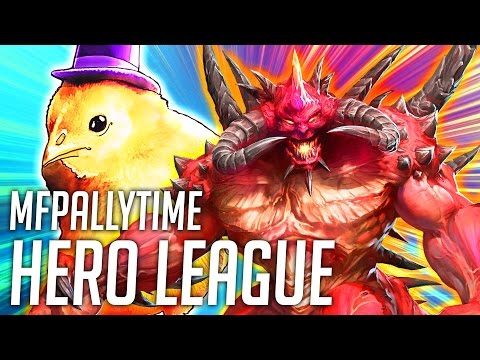 MFPALLYTIME HERO LEAGUE TIME | Heroes of the Storm Hero League Gameplay | HOTS