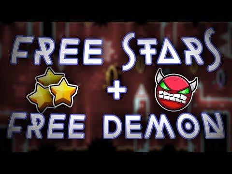 58 Free Stars + Plus 1 Demon! || Geometry Dash Free Stars ||