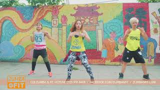 ZUMBA - AZUKITA - Steve Aoki, Daddy Yankee - Zin 73( Merengue EDM) BY ZUMBA&FIT