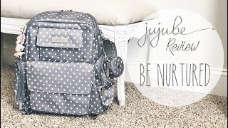 Review: Ju-Ju-Be Be Nurtured Packed as a Diaper Bag | Functional & Simplistic Packing