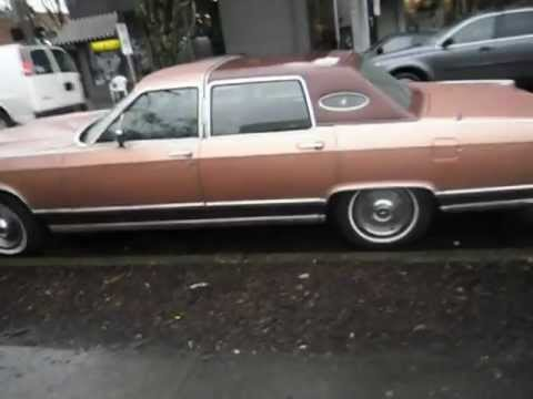 Old School Lincoln Town Car Cimg4888 Avi Youtube