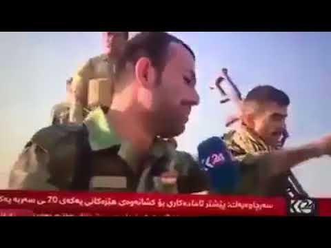 بالفيديو لماذا يبكي هؤلاء .. الأن العلم العراقي يرفع فوق محافظة كركوك، أم ندماً على هروبهم أمام القوات العراقية الجسورة؟