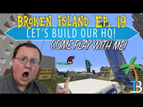 Let's Build The Breakdown Headquarters! - Broken Island 🌴 Ep. 19 IP: Play.BreakdownCraft.com