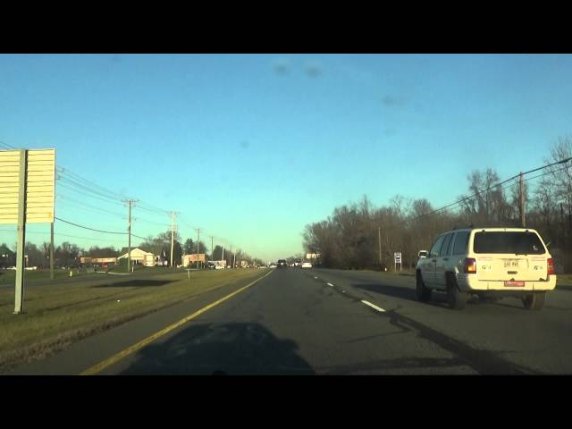 Driving North Harford County in Maryland