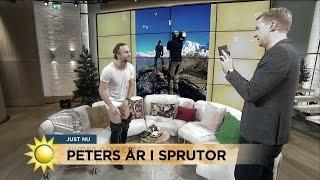 Peter om sin diabetes: Mitt mest meningsfulla år i livet - Nyhetsmorgon (TV4)