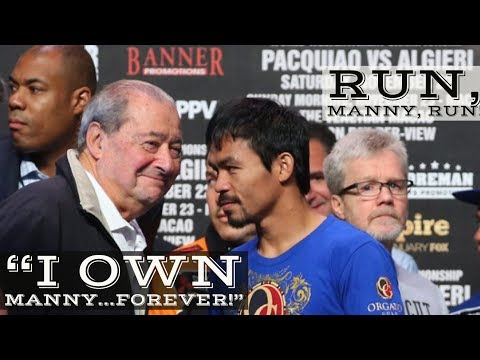 MANNY PACQUIAO TEAM EXP0SES BOB ARUM'S SABAT0GING    IS ARUM A S0CI0PATH?