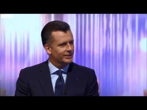 New Bank of England governor Mark Carney. BBC Newsnight 07-02-2013