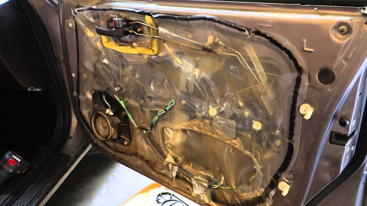 How to repair door lock Toyota Camry Years 1991 to 2002  YouTube