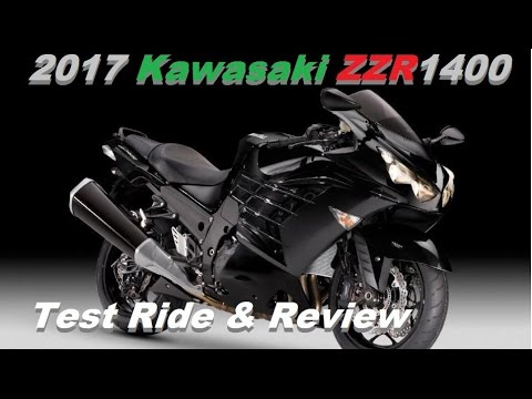 2017 Kawasaki ZZR1400 Test Ride - YouTube
