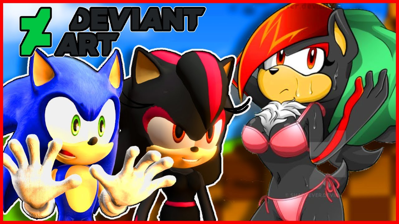 Sonic And Shadina Go on Deviantart!