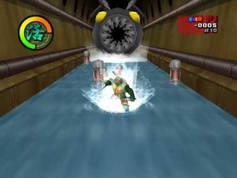 Игра черепашки ниндзя 2003 PC прохождение  HD  (тур 1 - 2/2)