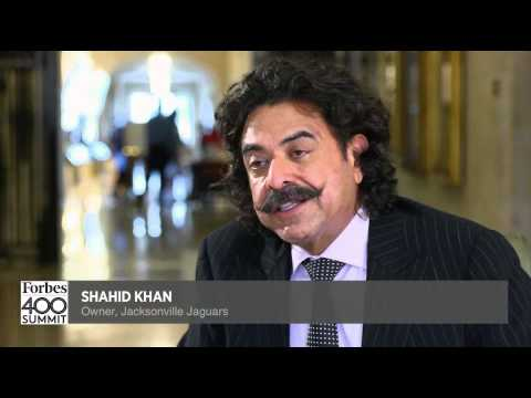 Billionaire Shahid Khan Talks Philanthropy (extended)