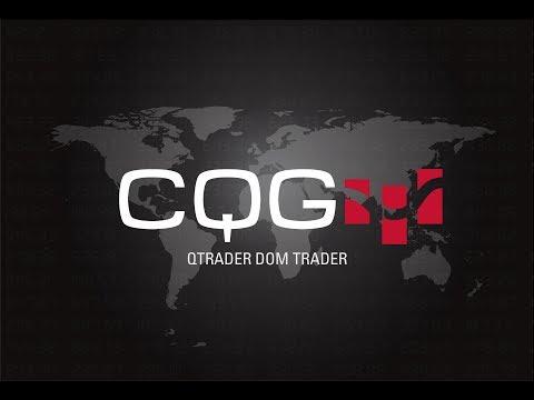 CQG QTrader DOMTrader®