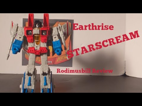 Earthrise Starscream Voyager Review By Rodimusbill