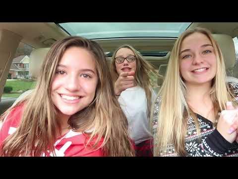 holiday carpool karaoke with my friends! || Mackenzie Ziegler