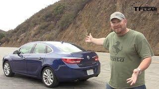 2014 Buick Verano Turbo Drive and Review