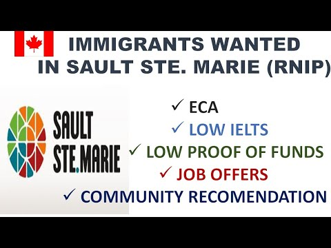Immigrants Wanted In Sault Ste Marie- RNIP Canada