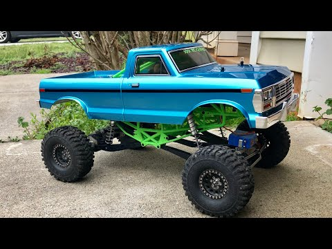 Download Axial Scx10 Monster Edition Ford F150 4x4 Scale Rc