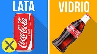 ¿Por qué la Coca-Cola sabe diferente dependiendo del envase?