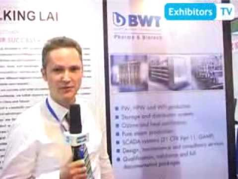 BWT Pharma provides Clean Utility Systems for Purified Water (ExhibitorsTV @Health Asia'13)