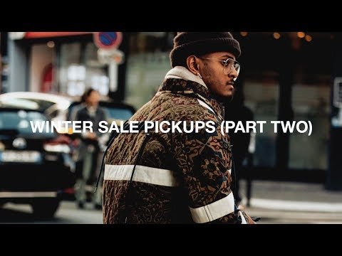 Massive Winter Sale Pickups (Part II) Ft. Raf Simons | Craig Green | Loewe