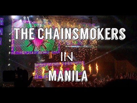 The Chainsmokers in MANILA