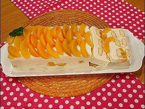 Portada 39 s receta torta helada de lim n y melocot n - Como hacer melocoton en almibar ...