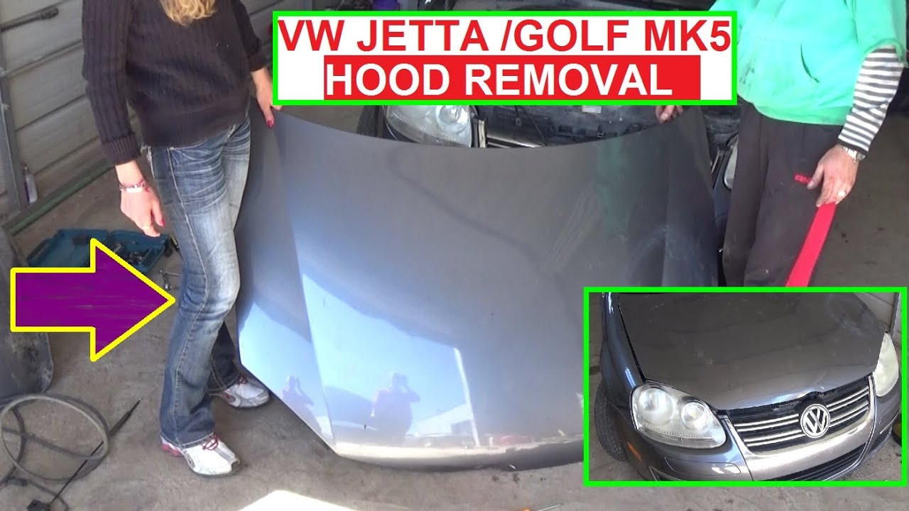 How to remove or replace the hood on vw jetta mk5 a5 or vw golf mk5 how to remove or replace the hood on vw jetta mk5 a5 or vw golf mk5 fandeluxe Choice Image