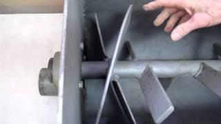 Plum Tree Pottery Clay Mixer/pug Mill Demo 2