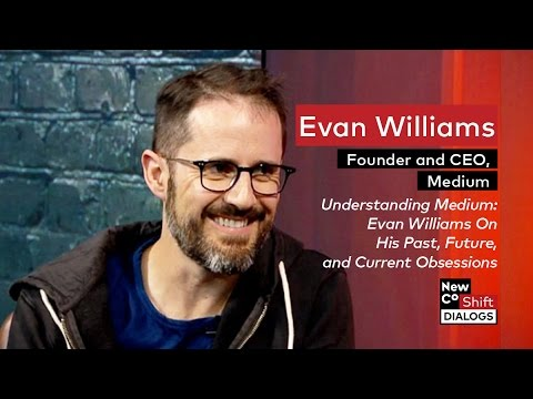 Medium Founder Evan Williams on Publishing and the Future of Media | Shift Dialogs