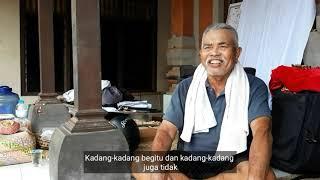 AGEM Wawancara Seniman Bali Kaki Rarem