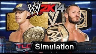 WWE TLC 2013 WWE 2K14 Simulation