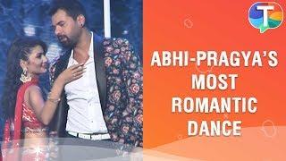 Shabir Ahluwalia and Sriti Jha aka Abhi and Pragyas most ROMANTIC dance performance
